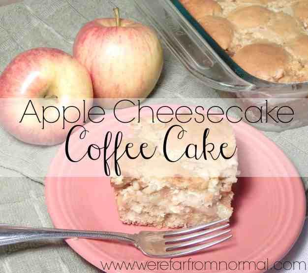 Apple Cheesecake Coffee Cake