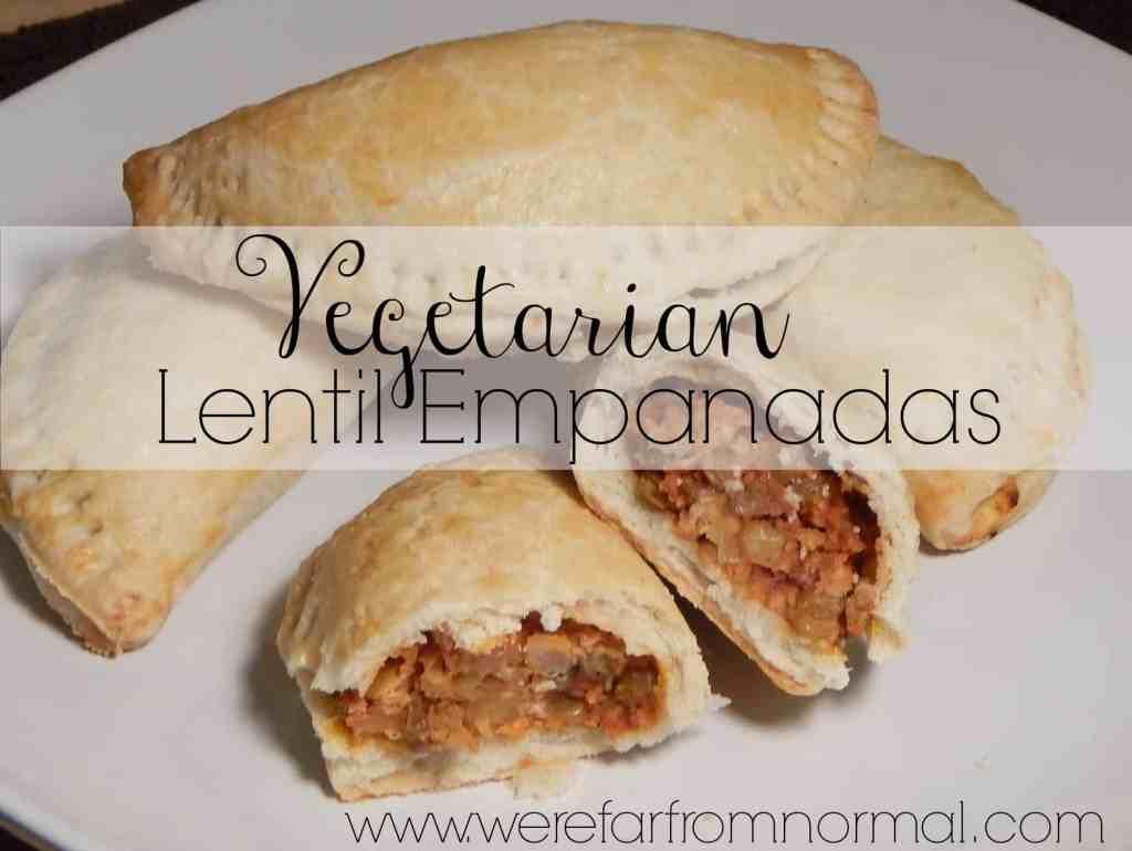 Lentil Empanadas