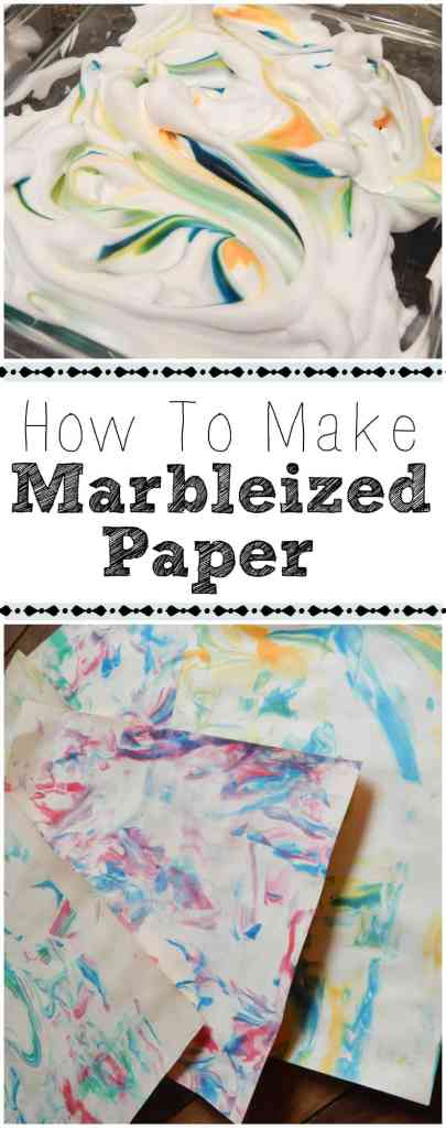 Looking for a fun and easy art project A little shaving cream and some creativity and you can have a beautiful result! A great project for kids and for your homeschool!
