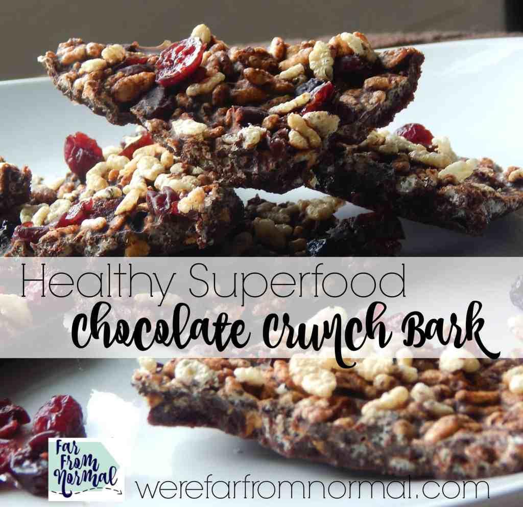 Superfood Chocolate Crunch Bark