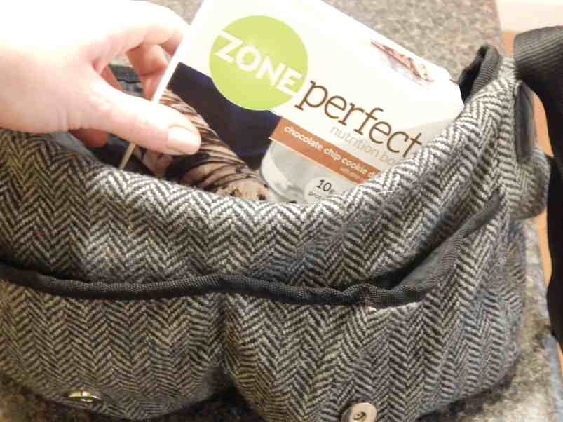 ZonePerfect Bars on the go