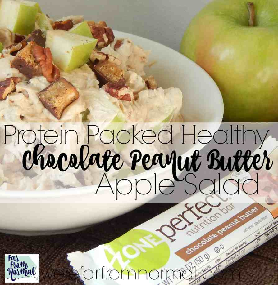 You'd never guess this is healthy! Made with Greek yogurt and ZonePerfect bars it is packed with protein and so delicious!