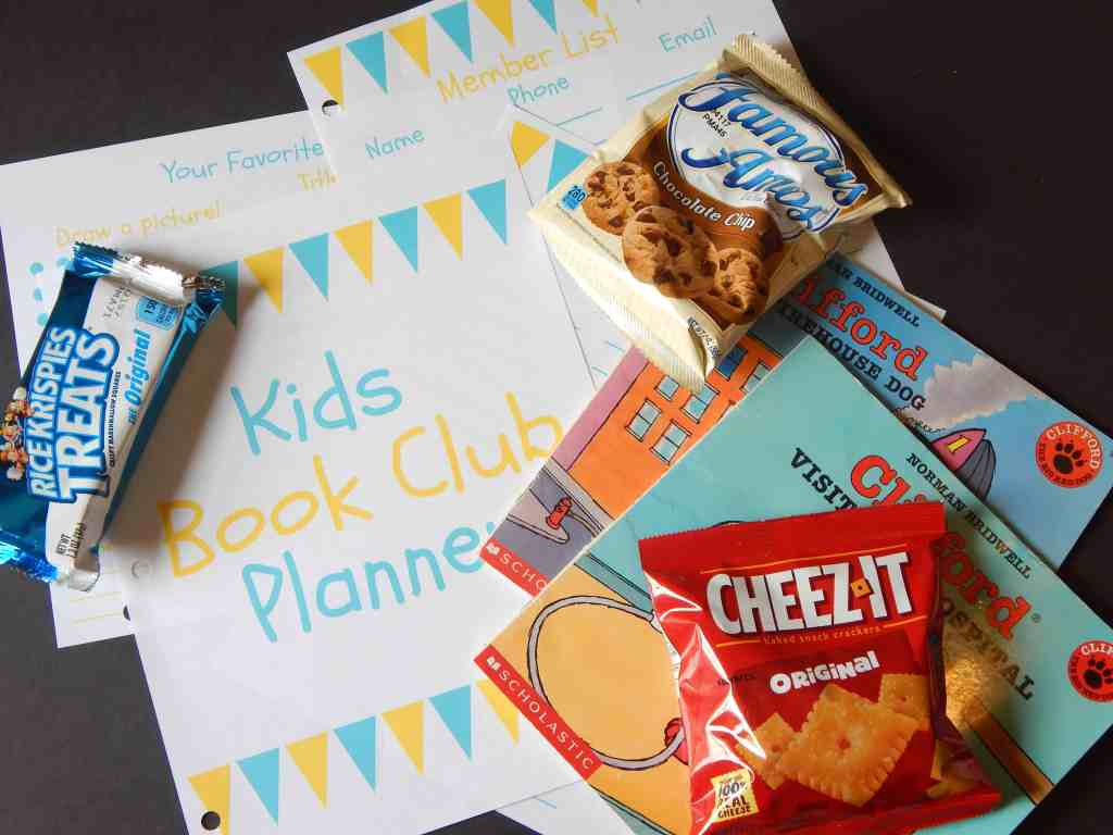 How to Start a Kid's Book Club {Free Printable Guide!}