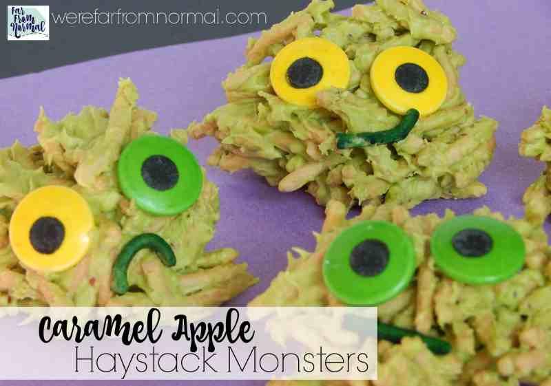 caramel-apple-haystack-monster-cookies