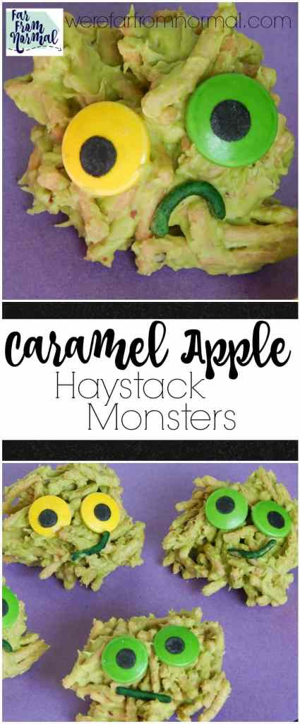 caramel-apple-haystack-monsters
