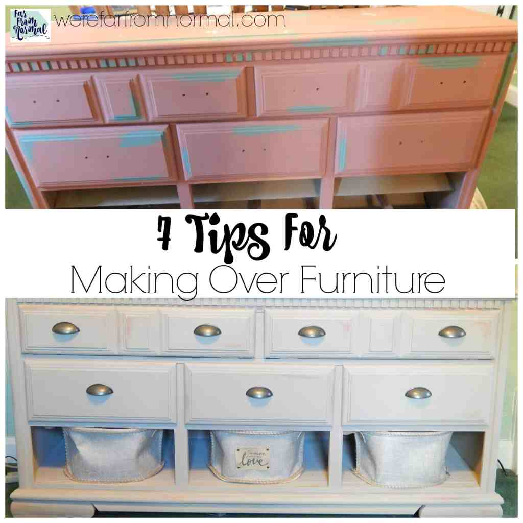 7 Tips for Making Over Furniture