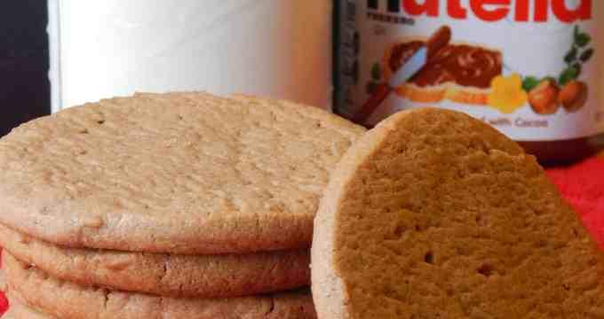 Delicious Chewy Nutella Sugar Cookies