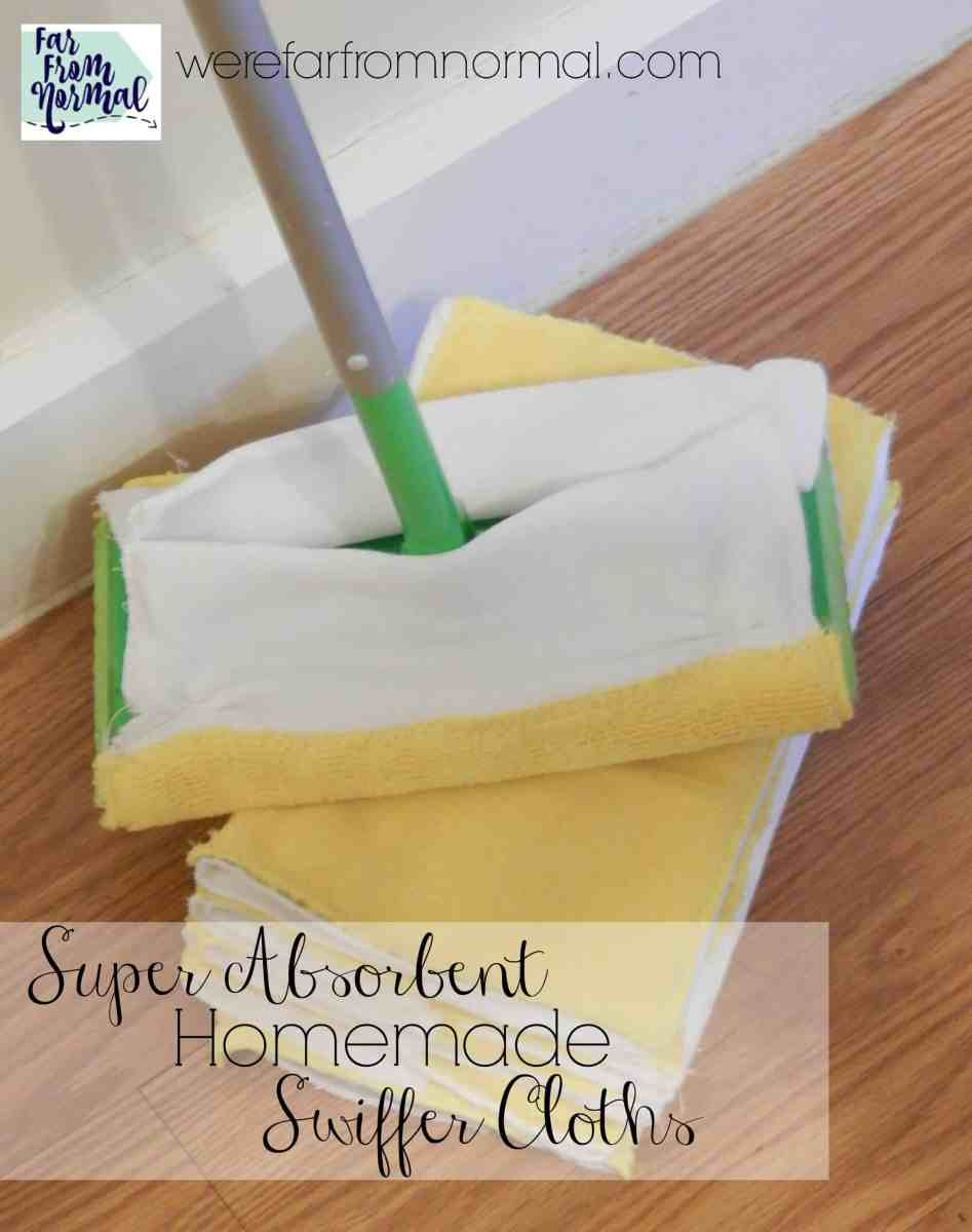 Super Absorbent Homemade Swiffer Cloths