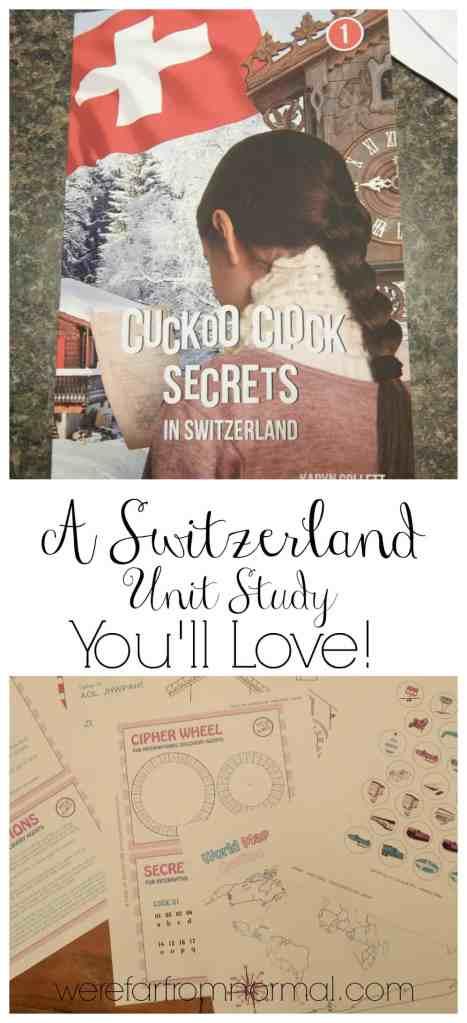 A Switzerland Unit Study You'll Love!!