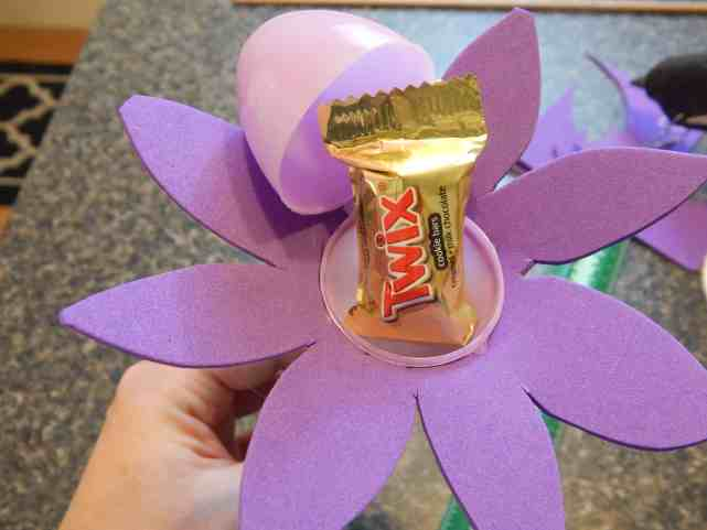 fillable easter egg flowers