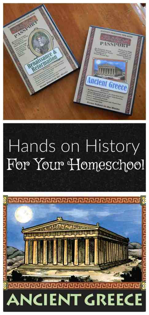 Hands on History for Your Homeschool