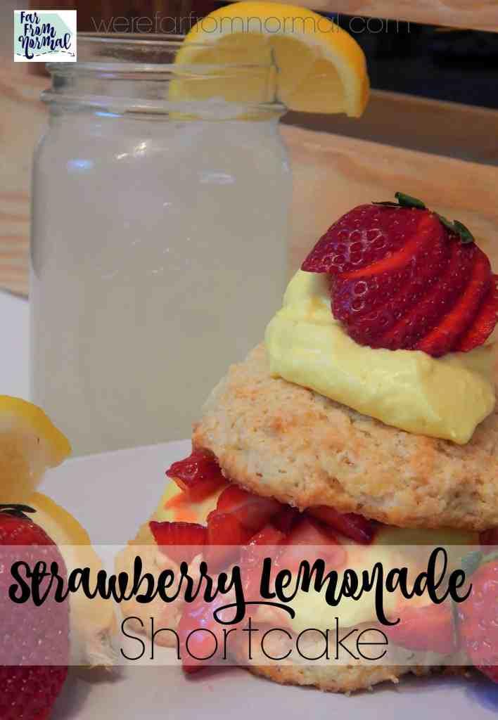 Delicious Strawberry Lemonade Shortcake
