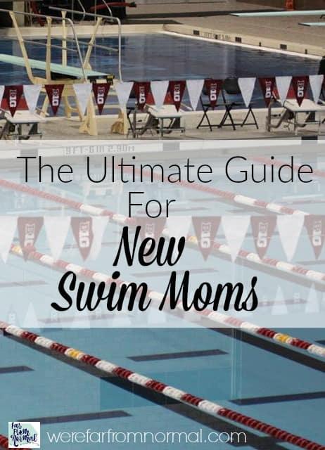guide for new swim moms
