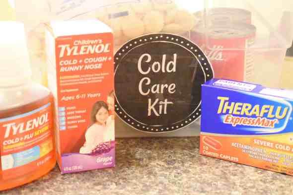 make a cold care kit