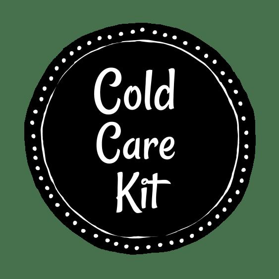 cold care kit printable label