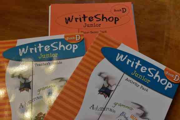 WriteShop grammar and writing skills