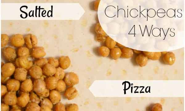 Easy & Delicious Roasted Chickpeas 4 Ways