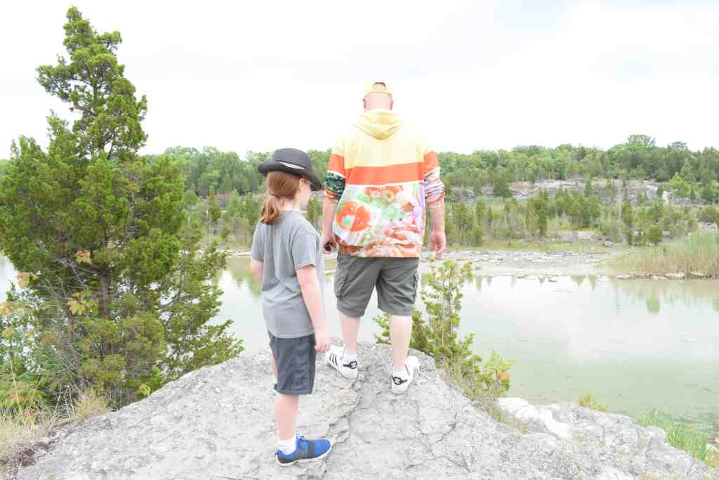 Kelleys Island Quarry and horseshoe lake