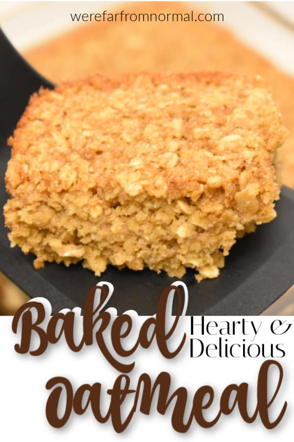 Hearty Delicious Baked Oatmeal