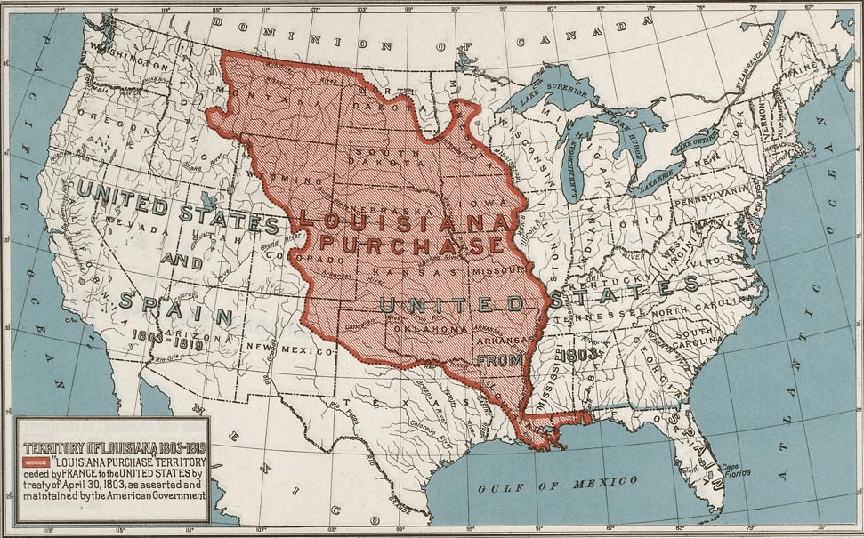 """an introduction to the history of the louisiana purchase The formative years of the louisiana purchase - to buy or not to buy, that is the question although it was the greatest """"real estate"""" deal, the louisiana purchase of 1803 was perhaps one of the most controversial events in american history."""