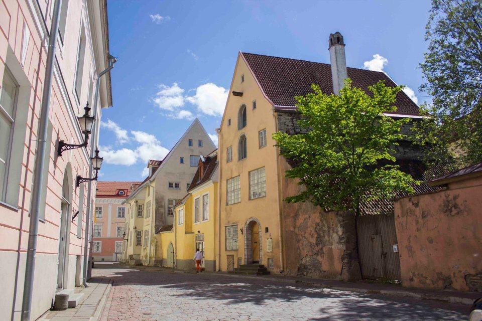 Tallinn, cute centrum