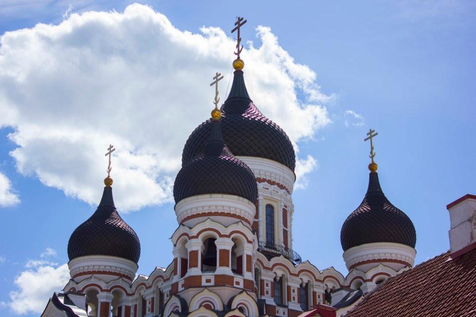 Alexander Nevski kathedraal Tallinn
