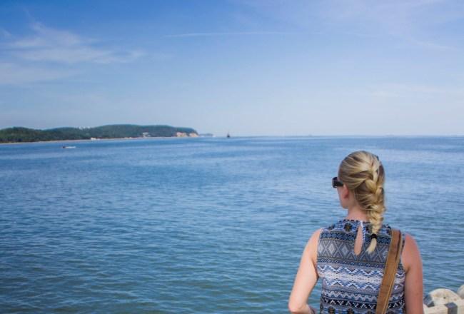 zon, zee en strand in Polen