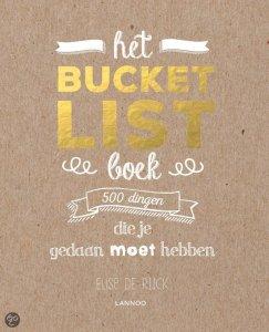 Kerstcadeaus: Het bucketlist boek