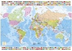 Kerstcadeaus: Puzzel the world