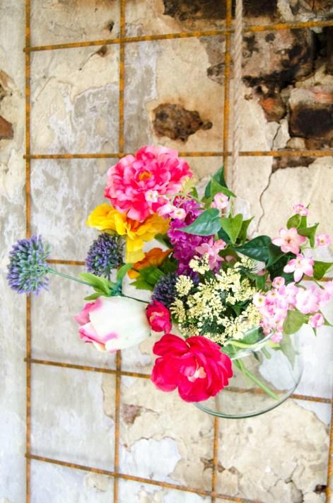 Hotspot Meneer Peer detail bloemen