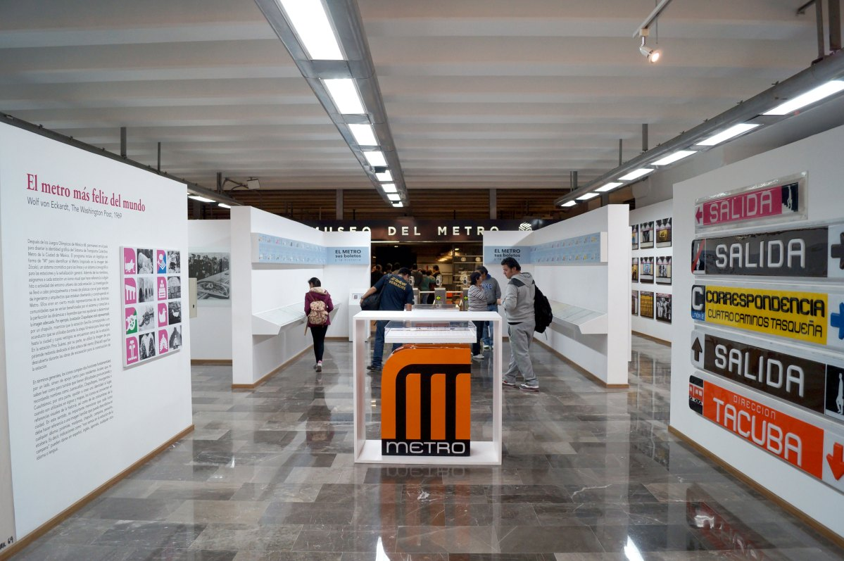 Un transporte, mil historias: Museo del Metro