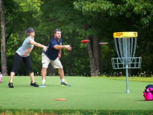 Enjoy a Round of Frisbee Golf!