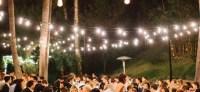 Outdoor Wedding Reception Lighting Tips - WeRentTables.com