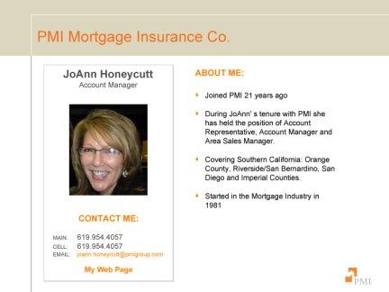 JoAnn Honeycutt - PMI