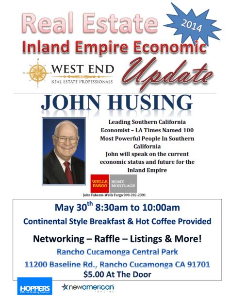 WEREP Dr. John Husing - Inland Empire Real Estate Economic Update