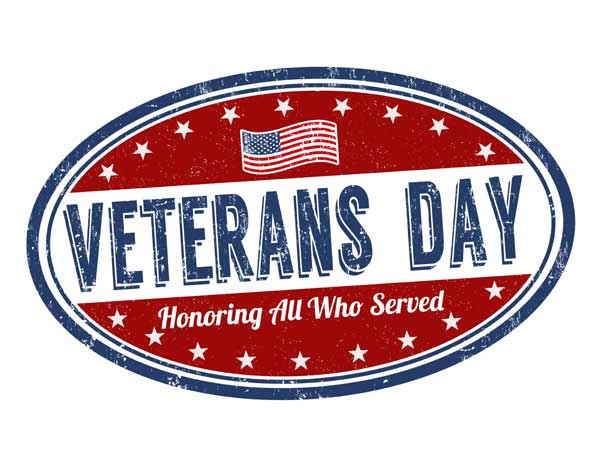 Veteran's Day | November 11, 2016