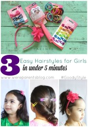 3 easy hairstyles girls