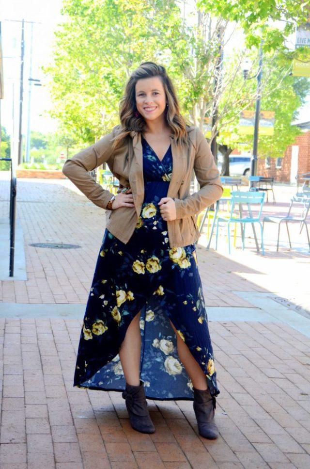 Floral Dress Floral Midi Dress