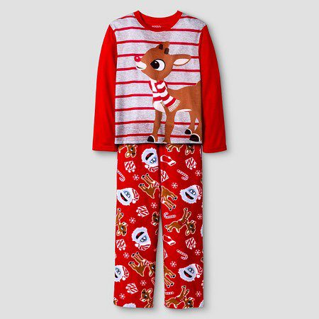 rudolph-the-red-nosed-reindeerfamily-pajamas