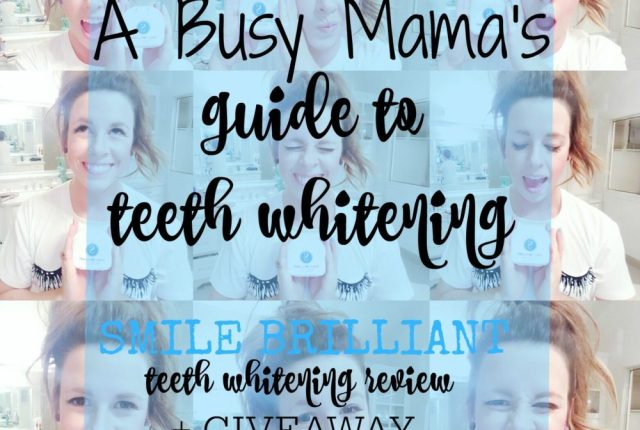 smile brilliant teeth whitening review mirror selfie