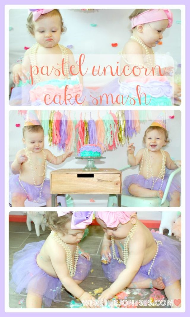 Cake Smash Collage Watermark with Border