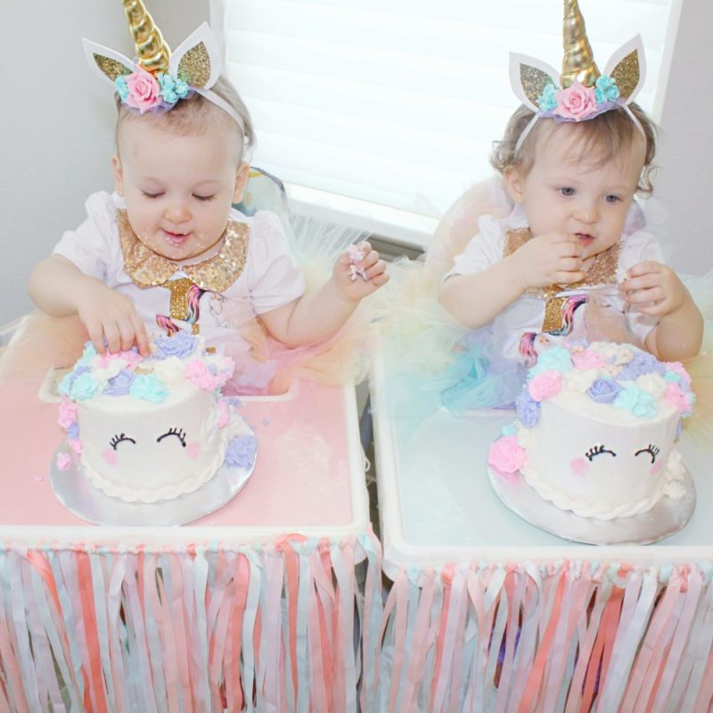 Unicorn Headband Birthday Outfit First Cake Coolest Party Ideas