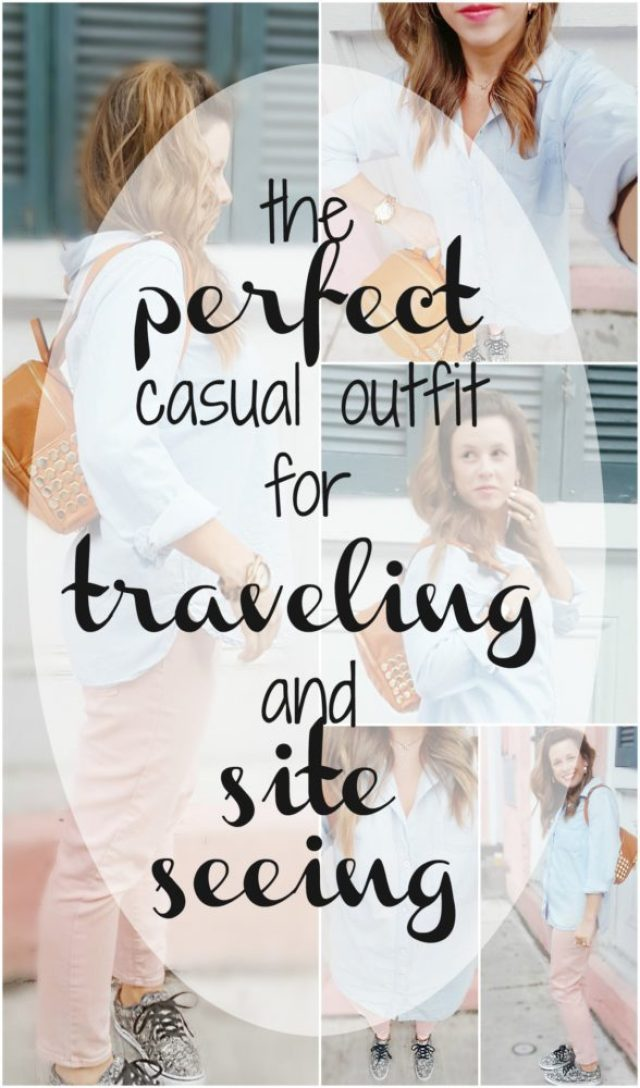 The Perfect Casual Outfit for Traveling and Site Seeing