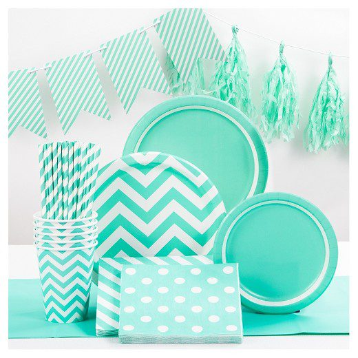 Turquoise Party Supplies Collection Spritz™