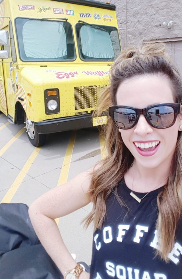 Eggo Waffle Bar Truck