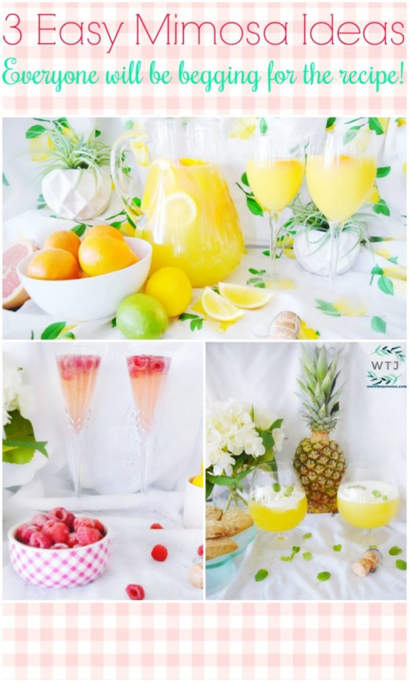 Best. Mimosas. Ever. 3 Recipes for Mother\'s Day Brunch » We\'re The ...