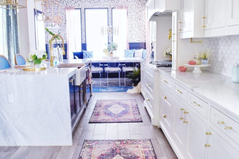 THE REVEAL: Modern Coastal Glam Kitchen Makeover » We're