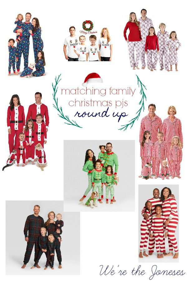 Matching Family Christmas Pajamas Holiday Pjs for Christmas Morning  Christmas Eve Pajamas werethejoneses.com b611696eb