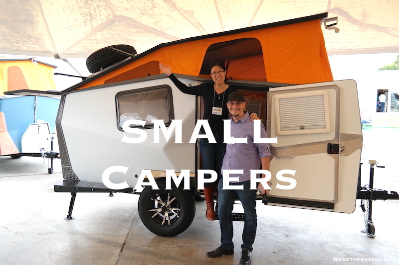 Small Travel Trailers Under 3500 lbs  From Teardrop