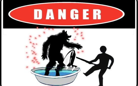 WereWatchers - Haircare - Wet Fur - DANGER